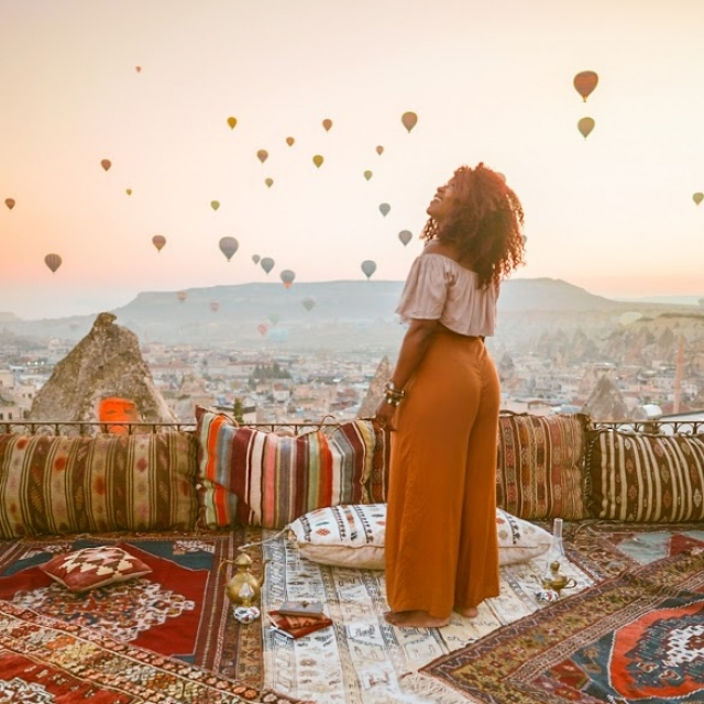 Cappadocia Hot air balloon view